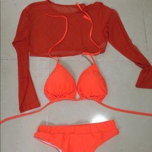 3pc bathing suit